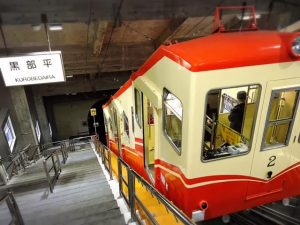 kurobe-cable-car